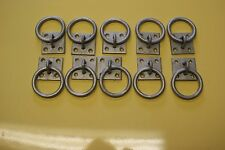 Tie Ring Horse Haynet Heavy duty & designed for use outside pack x10 Galvanised