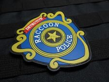 Resident Evil UMBRELLA DETECTIVE Raccoon Police DEP 3D PVC Patch PB434