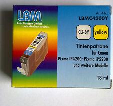 LBMC4200Y CLi8Y yellow Für Canon Pixma iP4200;iP5200 usw