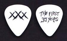 Metallica Fillmore The First 30 Years White XXX Guitar Pick 2011 Tour