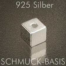 12011-5,8 MM  WÜRFEL AUS 925-er SILBER DIAMANTIERT