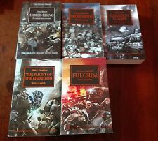 warhammer 40k : lotto romanzi horus heresy black library