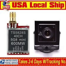 TS5828S FPV 5.8G 40CH 600mW Wireless Transmitter Antenna+700TVL Mini FPV Camera