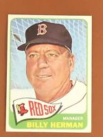 1965 Topps Billy Herman Card #251 NM-MINT Boston Red Sox