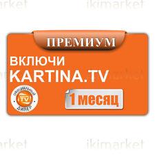 Kartina TV 1 Monat Abo Premium ohne Vertrag Russkoe TV Archiv Videothek