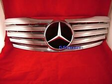 Mercedes W220 S500 S430 s55 s600 grille grill 00~02 CHROME 5 fins CL style AMG