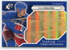 2003-04 SPx Radiance 115 Mark Messier LI 29/50