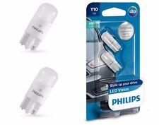 PHILIPS VISION LED W5W T10 127914000KB2 Pure White 4500K 12V w2.1x9.5d (2 pc)