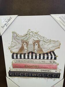Gucci Chanel wall art canvas 14x11