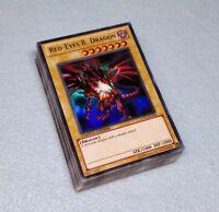 Yugioh Complete Joey Wheeler Deck Red Eyes Black Dragon Time Wizard + Deck Box