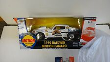 ERTL MUSCLE 1970 70 BALDWIN MOTION 427 CHEVY CAMARO WHITE HOBBY 1/5000 Z28 SS