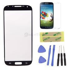 for Samsung GALAXY S4 i9500 Front Screen Glass Lens Replacement REPAIR KIT Black