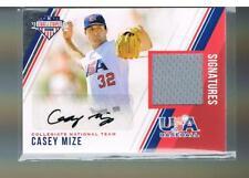 Casey Mize 2018 Panini USA Stars & Stripes JSY AUTO 225/299  #1 OVERALL PICK