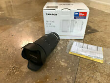 Tamron DI 28-75mm F/2.8II RXD Lens for Sony in great condition with box