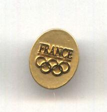 PyeongChang 2018 NOC pins - FRANCE TEAM NOC undated badge pin
