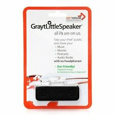 New Mini GraytLittleSpeaker Black iPod Portable Mini Rechargeable Speaker System