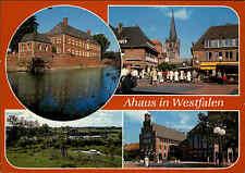 4422 AHAUS Westfalen color Mehrbild-AK frankiert gelaufen Postkarte Ansichtsk.