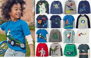 Mini Boden boys applique top genuine age 2 3 4 5 6 7 8 9 10  NEW shirt