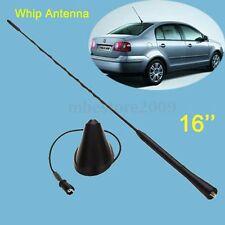 16'' Roof Mast Whip Aerial Antenna Base For VW Jetta Bora Golf Polo 98-04 Passat
