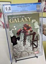 Guardians Of The Galaxy #25 1:15 CGC 9.8 Iron Man by Design Steampunk Variant