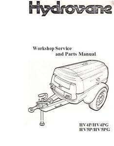 HYDROVANE HV4P/HV4PG/HV5P/HV5PG SERVICE & PARTS MANUAL ***PDF sent via email***