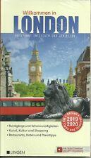 Reiseführer Stadtplan London Stadtführer m Metroplan NEU 2019/2020 Briefversand