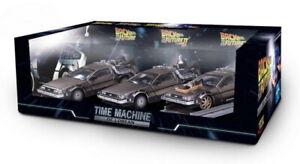 DeLorean Back to the Future Trilogy Pack 1:43 (SunStar - Vitesse 24016)