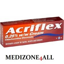 Acriflex Antiseptic Cream for burns scalds blisters 30g EXP 02/2021 FREE UK POST