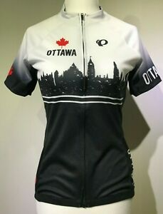New PEARL IZUMI Women Select Escape Short Sleeve Cycling Jersey Ottawa Canada