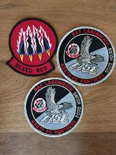 USAF patch set 2 3 RAF Lakenheath patches F-15E 494 FS EFS See other sets