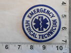 Emergency Medical Technician patch small size 3 in diameter   free shipping