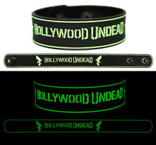 Hollywood Undead wristband rubber bracelet glow in the dark v2