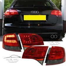 REAR TAIL LED LIGHTS RED-SMOKE FOR AUDI A4 B7 04-08 AVANT LAMPS