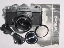 KONICA AUTOREFLEX T3 SLR 35mm Film Manual Camera w/ 50mm F1.4 AR HEXANON Lens