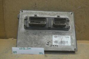 2005-2006 Saturn Ion Engine Control Unit ECU 12589999 Module 294-8e8