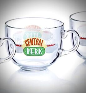 Friends Central Perk Cappuccino Coffee Tea Glass Easter Gift Novelty Tv Show