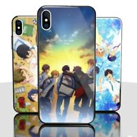 Anime Free! glass  Phone Case for Iphone X  Xs Xr Max Iphone 6 7 8