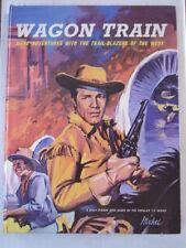 WAGON TRAIN BRITISH ANNUAL 1961 DAILY MIRROR BOOK