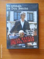DVD EL CRIMEN DE DON BENITO - GABINO DIEGO - LA HUELLA DEL CRIMEN (8M)