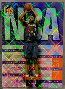 1999 Upper Deck HoloGrFx Vince Carter NBA 24-7 Insert #3