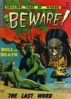 Beware 10 Comic Book Cover Art Giclee Reproduction on Canvas