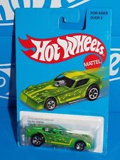 Hot Wheels 2016 Target Retro Series DNF24 '77 Plymouth Arrow Green w/ 5SPs