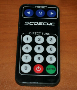 Scosche Car Stereo Remote Tested Audio Replacement Part Auto Receiver Mobile 129