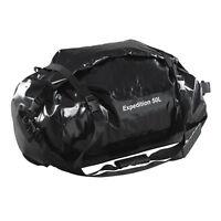 Caribee Expedition 50LT Duffel Waterproof Roll Dry Bag Black