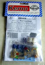 Universal-Alarmanlage für 12 Volt / Bausatz Kemo-Electronic
