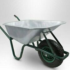 Schubkarre 100L 250kg Schiebkarre Schiebtruhe Schubkarren für Bau Garten
