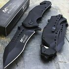 """MTECH USA 8.75"""" SPRING ASSISTED OPEN TACTICAL RESCUE FOLDING POCKET KNIFE EDC"""