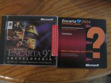 Microsoft Encarta 1997 & 2004 Encyclopedia