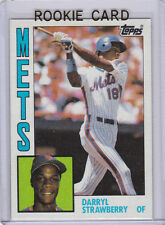 DARRYL STRAWBERRY ROOKIE CARD New York Mets VINTAGE BASEBALL 1984 Topps MLB RC!