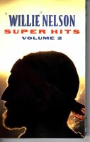 Willie Nelson Super Hits Vol 2 1995 Cassette Tape Classic Country Folk Rock